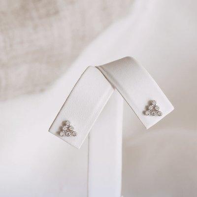 Neuf vingt cinq Boucles d'oreilles - Les Triangulaires