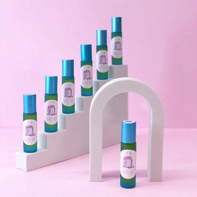 Caramel Roze Roll-on Dating  - Framboise bleue