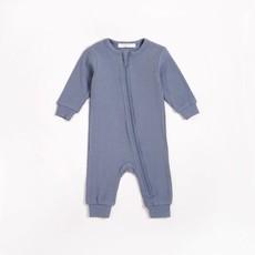 Petit Lem Dormeuse bleu crépuscule en modal côtelé
