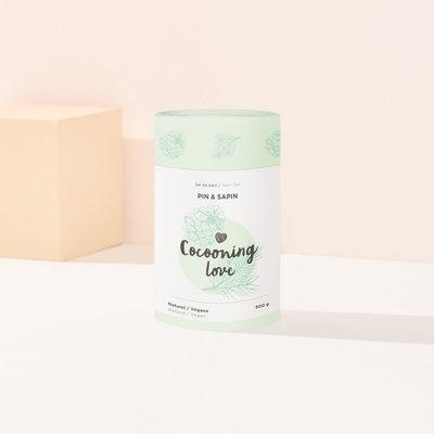 Cocooning Love Sel de bain -  Pin & Sapin