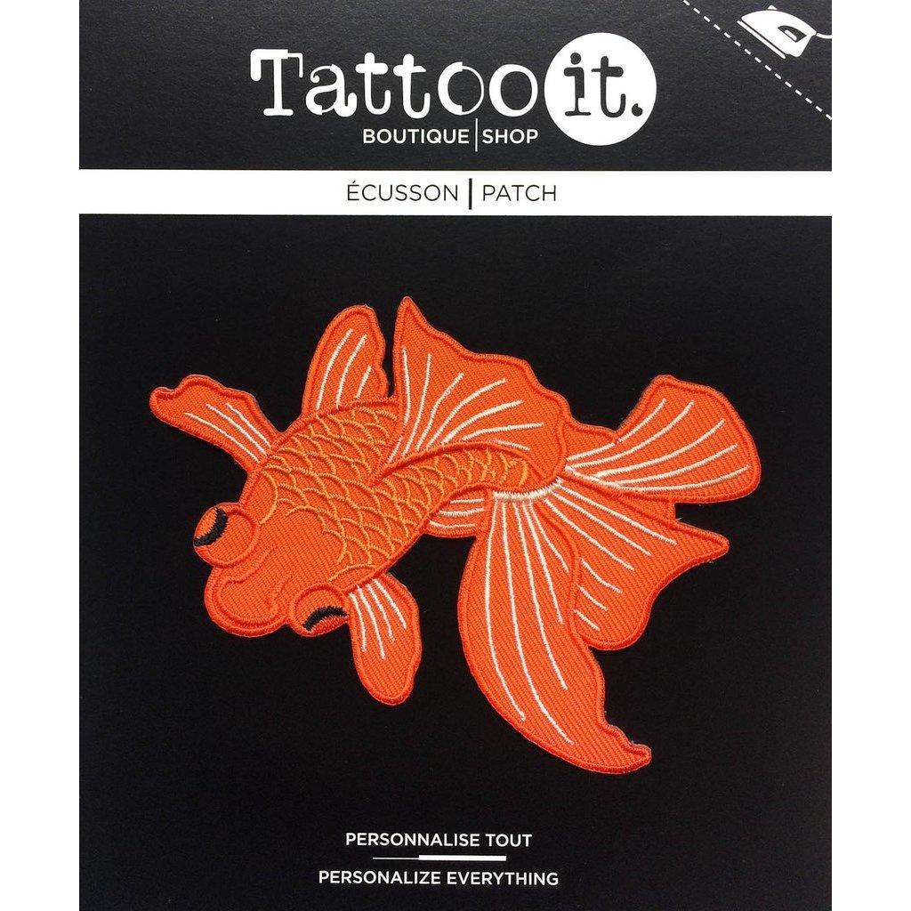 Tattoo it Écusson - Poisson Japonais