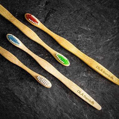 OLA Bamboo Brosse à dent en bambou