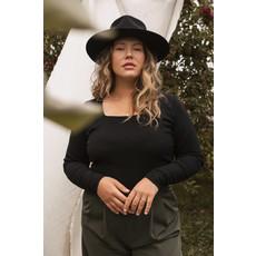 Dailystory clothing Chandail Amber - Noir