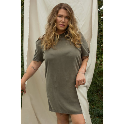 Dailystory clothing Robe Abby - Olive