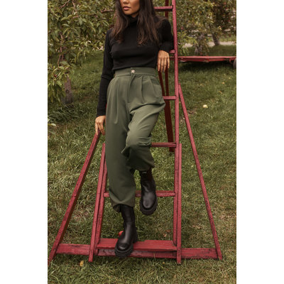 Dailystory clothing Pantalon Amy - Olive