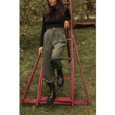Dailystory clothing Chandail à col roulé Chloé - Noir