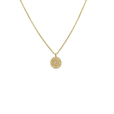 Lost & Faune Collier - Astre or et opale