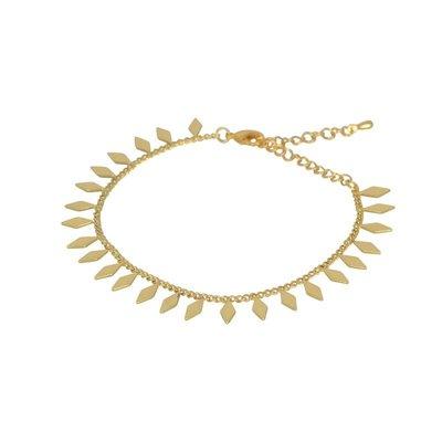 Lost & Faune Bracelet or à breloques losanges