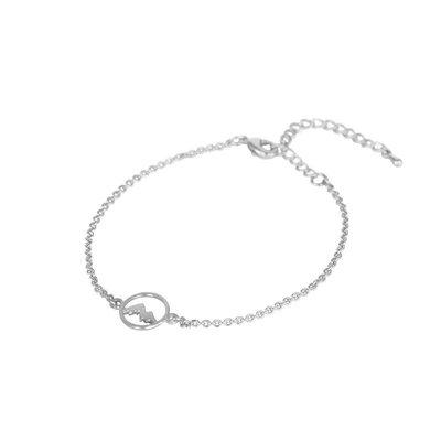Lost & Faune Bracelet - Médaillon de montagne