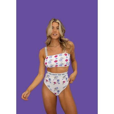 POP Underwear Haut Tube - Too Crazy for You