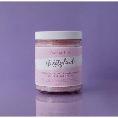 Caprice & Co. Nettoyant pour le corps fouetté - Milkshake à la fraise - Campino