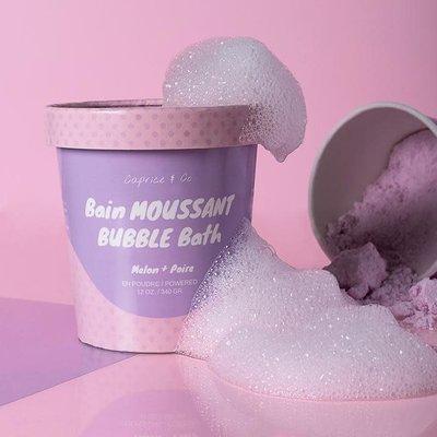 Caprice & Co. Bain moussant- Melon + poire