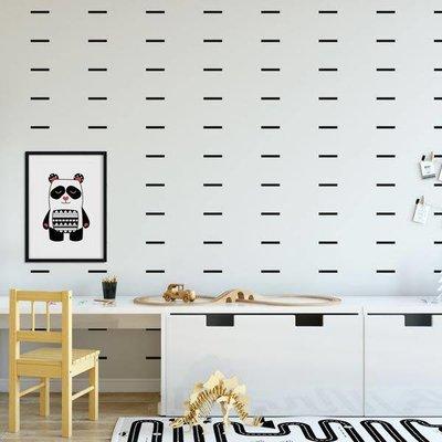 Picotatoo Autocollants muraux - Confettis noir