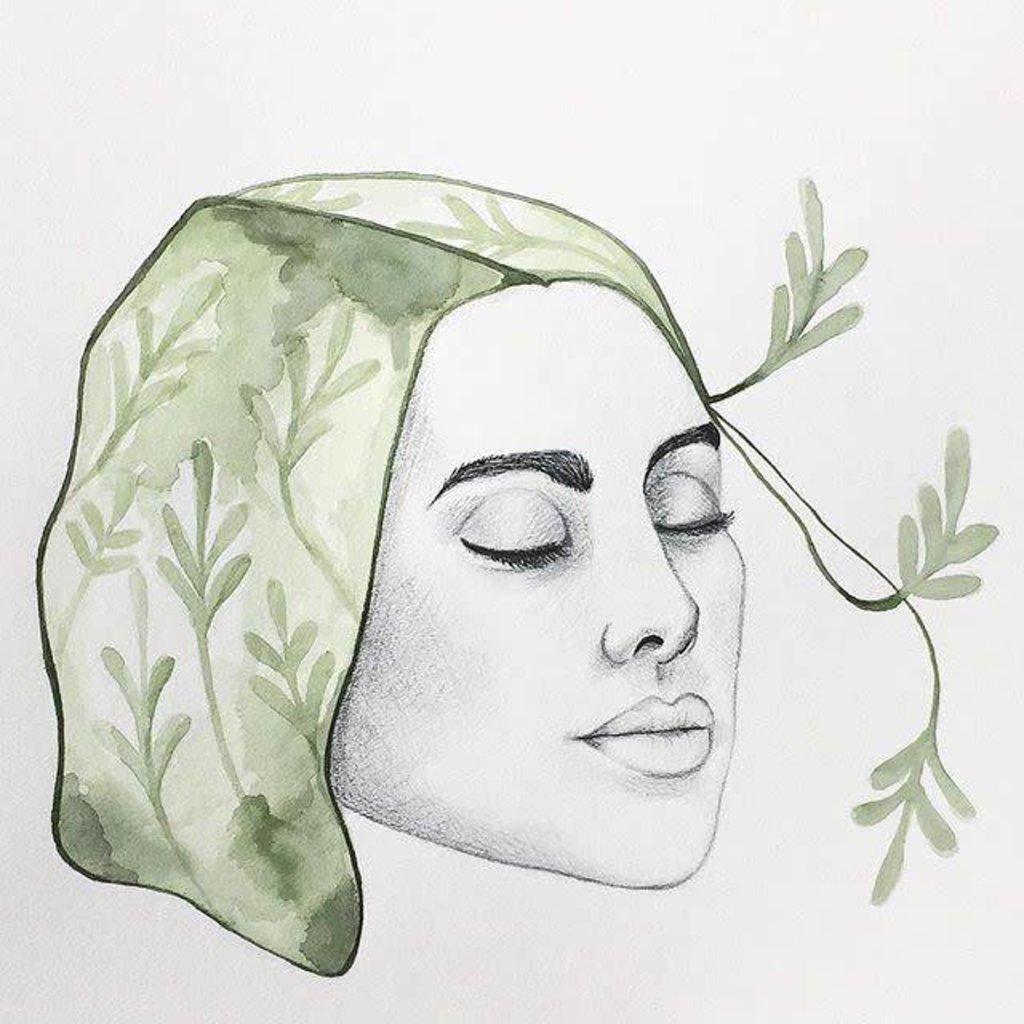 Affiche - Dame nature