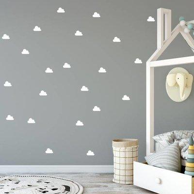 Picotatoo Autocollants muraux - Nuages blancs