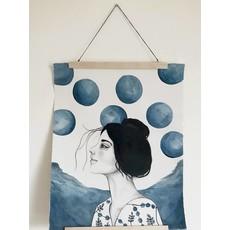 Affiche - La femme bulle