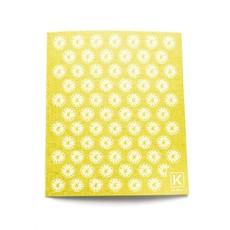 KLIIN Essuie-tout réutilisable - Jaune citrons blancs