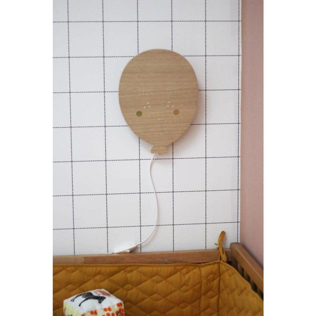 Veilleuse en bois - Ballon
