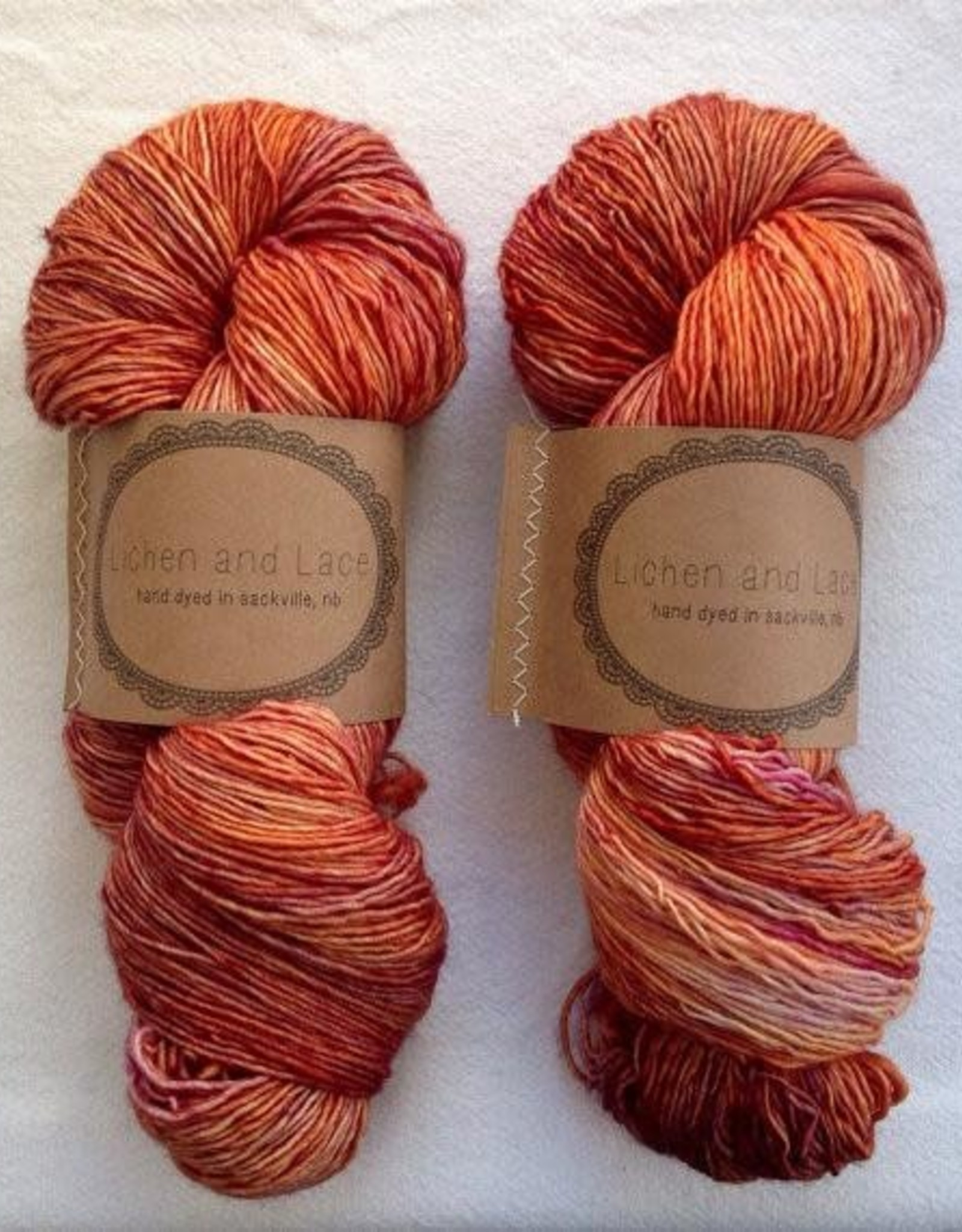 LL 80/20 Sock - Day Lily