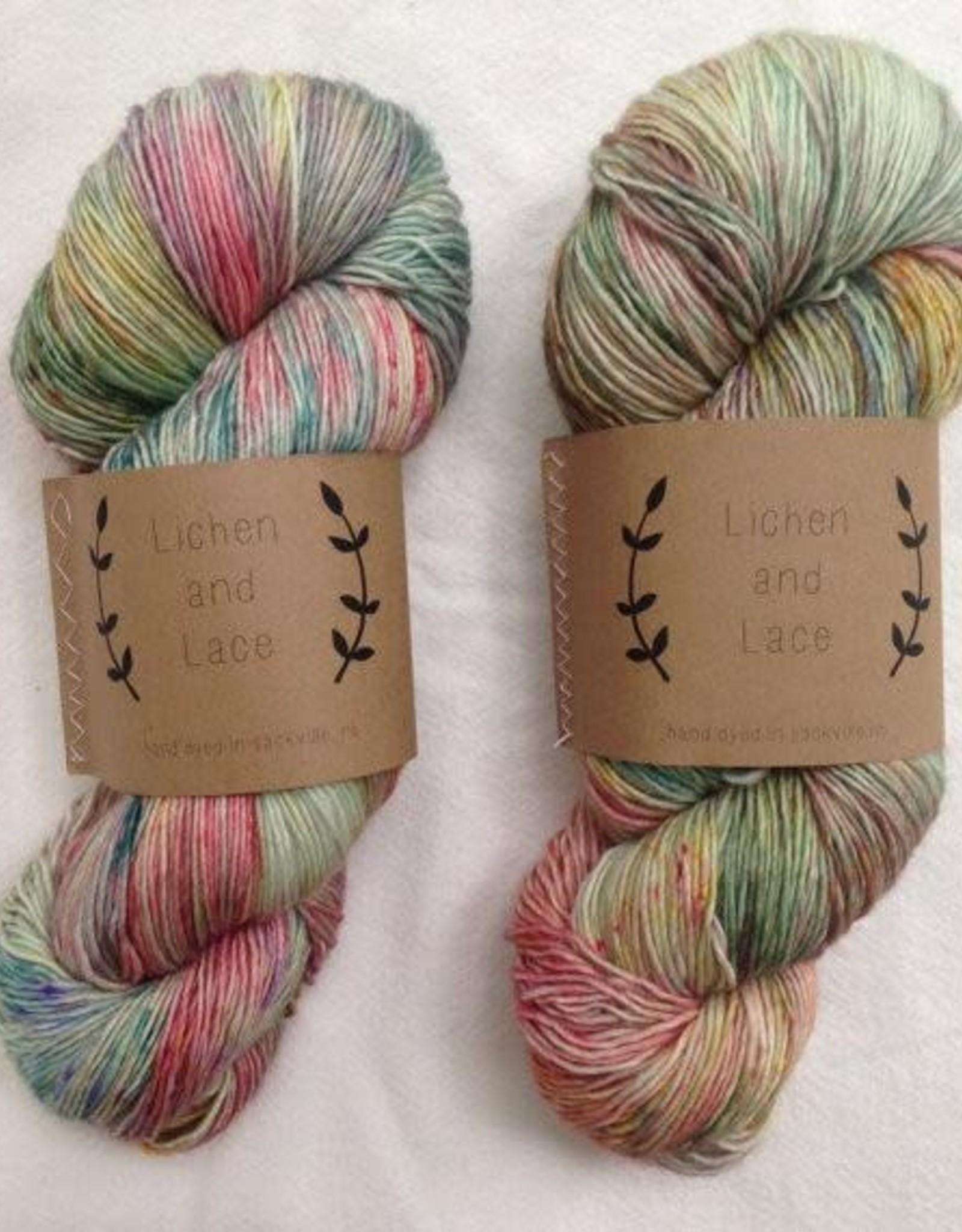 LL 80/20 Sock - Wild Flowers