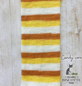 BC Bis-Sock Candy Corn