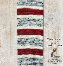 BC Bis-Sock Mon Pays C'est L'Hiver