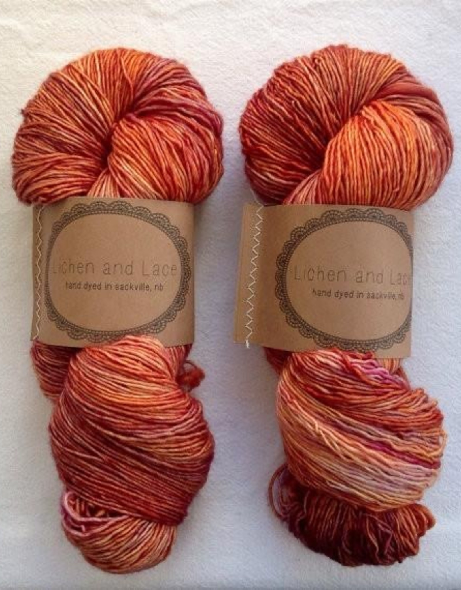 LL Marsh Mohair - Day Lily