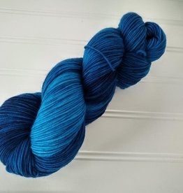 Log House Cottage - Semi-Solids Blue Wave