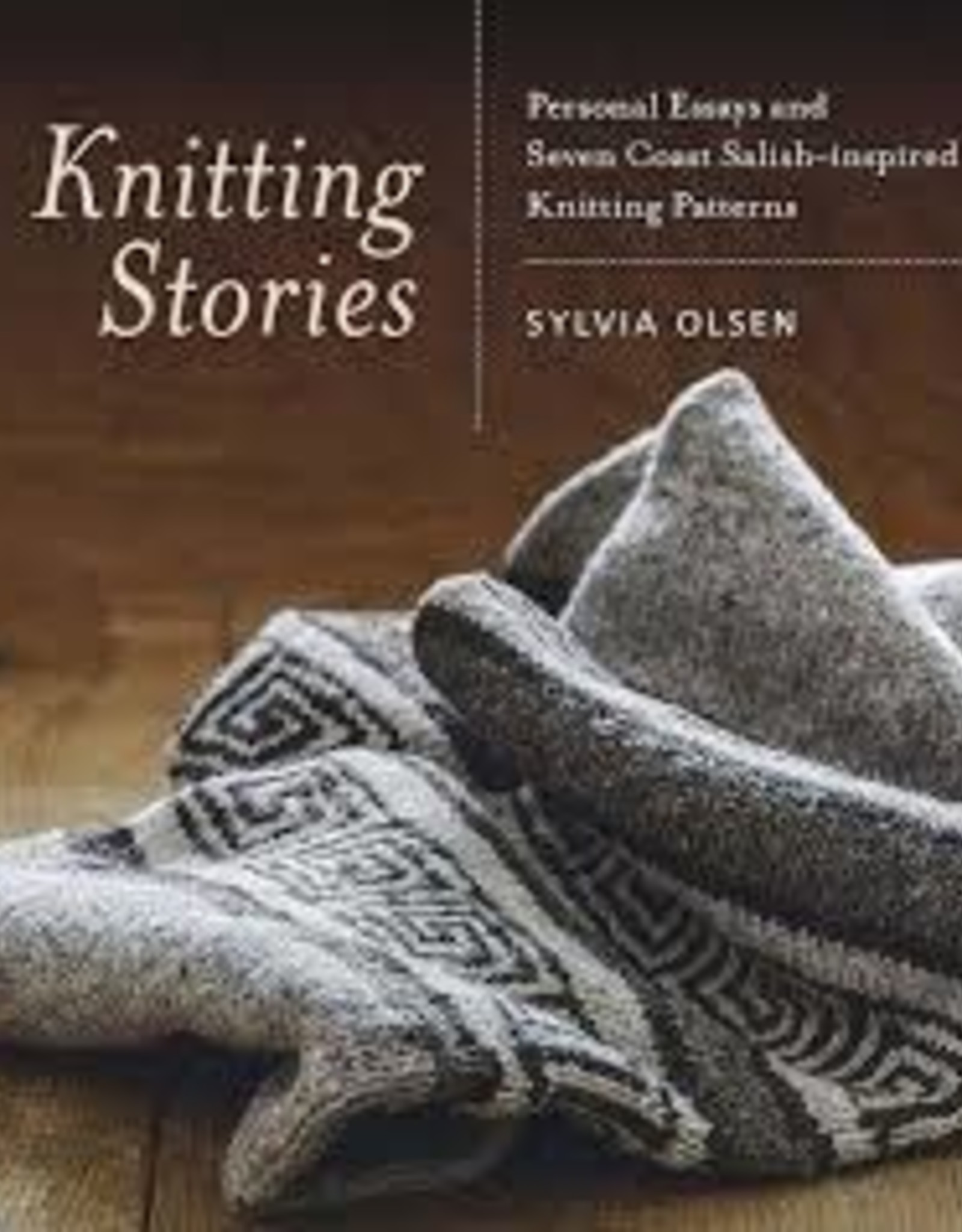 Book - Knitting Stories by Olsen