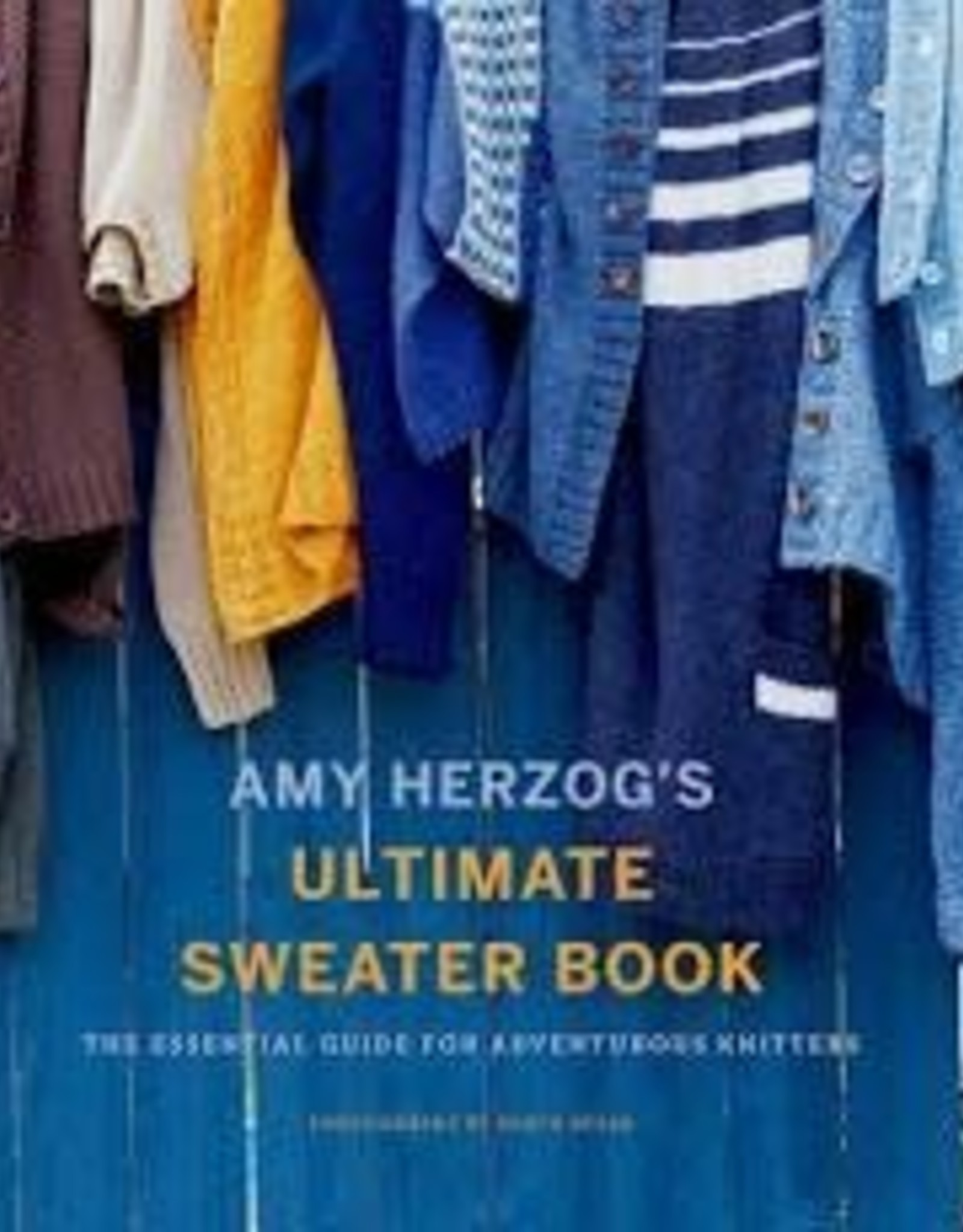Book - Ultimate Sweater Book by Herzog
