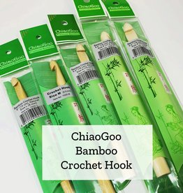 ChiaGoo Bamboo Crochet Hook 8 mm