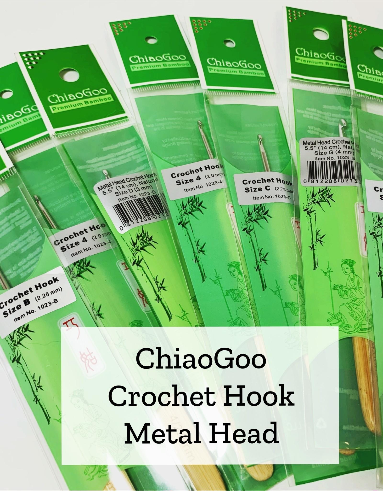 ChiaoGoo Metal Head Crochet - 5.5 mm