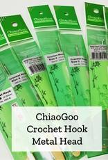 ChiaoGoo Metal Head Crochet - 6 mm
