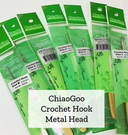 ChiaoGoo Metal Head Crochet - 6 mm