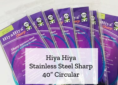 "40"" Stainless Steel Sharp Circular"