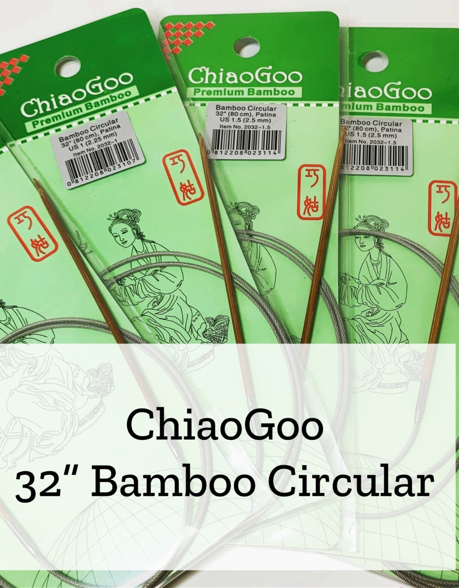 "ChiaoGoo Bam 32"" 3.75 mm"