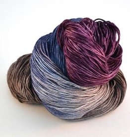 Riverside Studio - 80/20 Sock - Damson and Denim