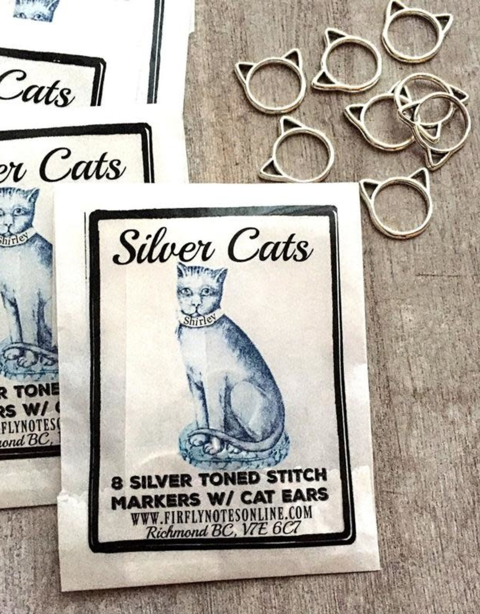 Firefly Notes - Silver Cats