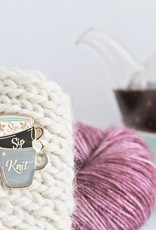 Twill and Print - Sip Sip Knit