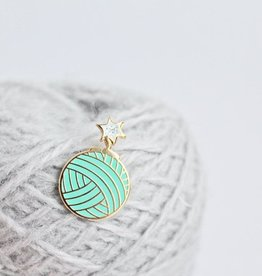 Twill and Print - Yarnbomb Pin