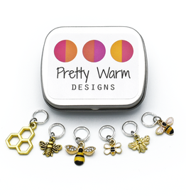 PWD - Honey Bee Stitch Markers