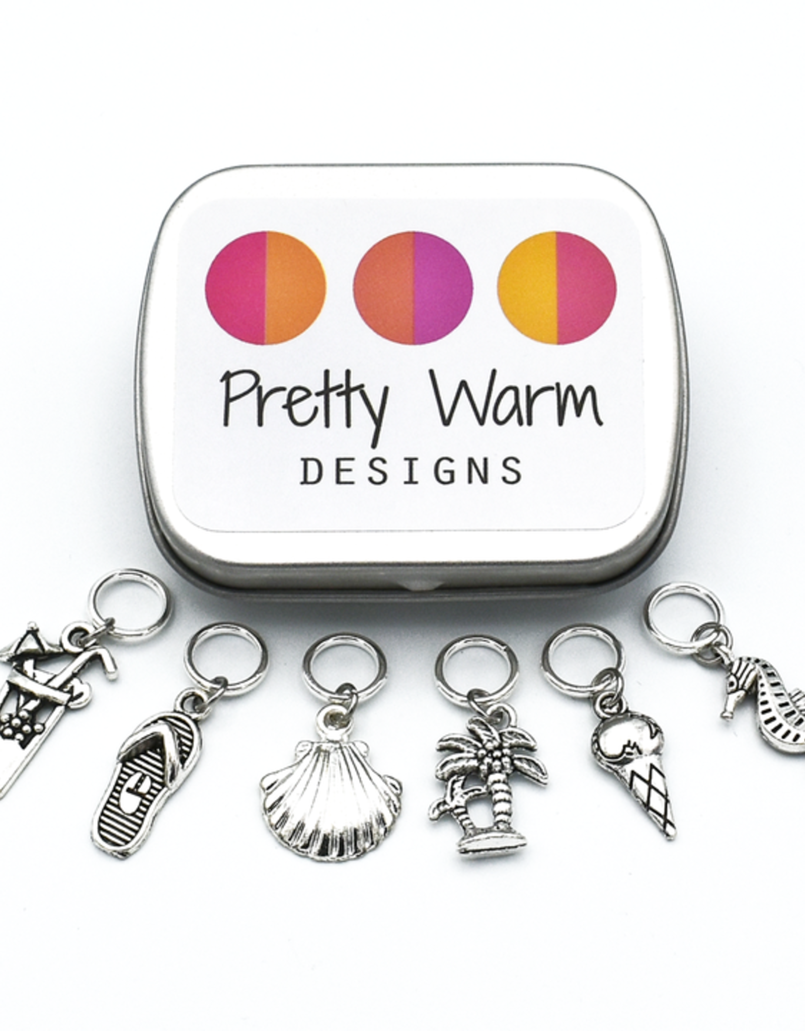 PWD - Beach Party Stitch Markers