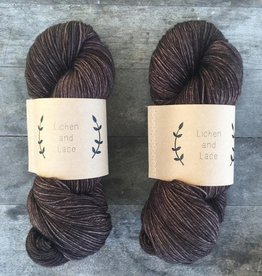 LL 80/20 Sock - Black Walnut
