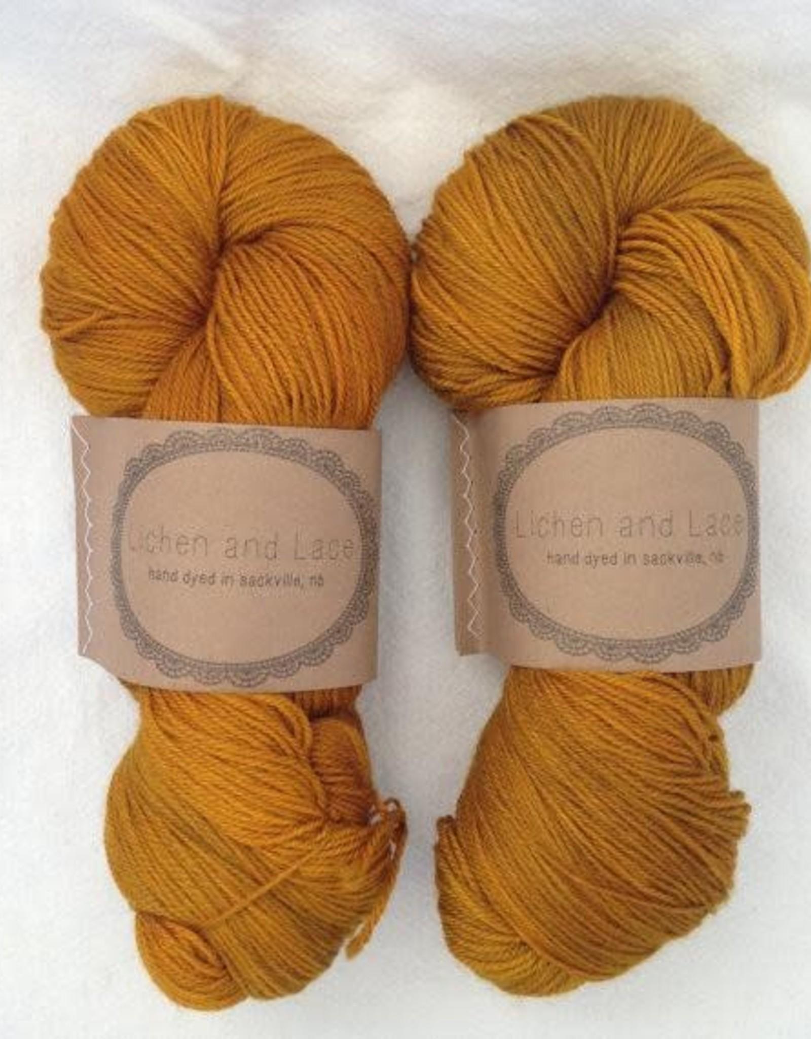 LL 80/20 Sock - Amber
