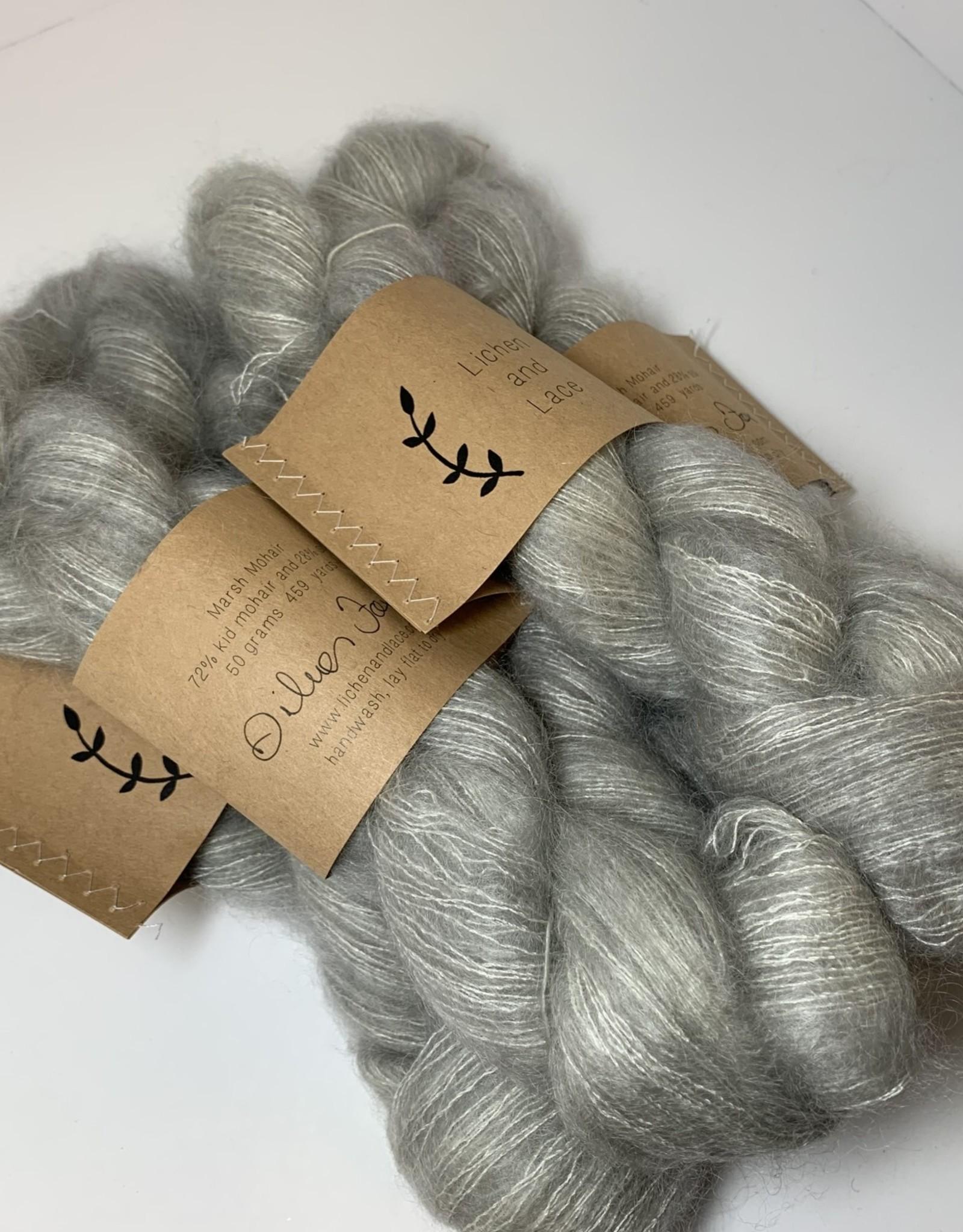 LL Marsh Mohair - Silver Fox