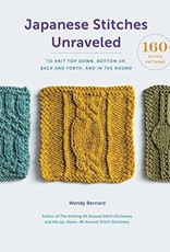 Book - Japanese Stitches Unraveled by Wendy Bernard