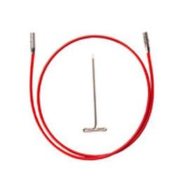 """MINI ChiaoGoo Red Lace Cables - 37"""" Mini"""