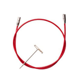 "SMALL ChiaoGoo Red Lace Cables - 37"" Small"