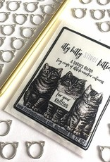 Firefly Notes - Itty Bitty Silver Kitties