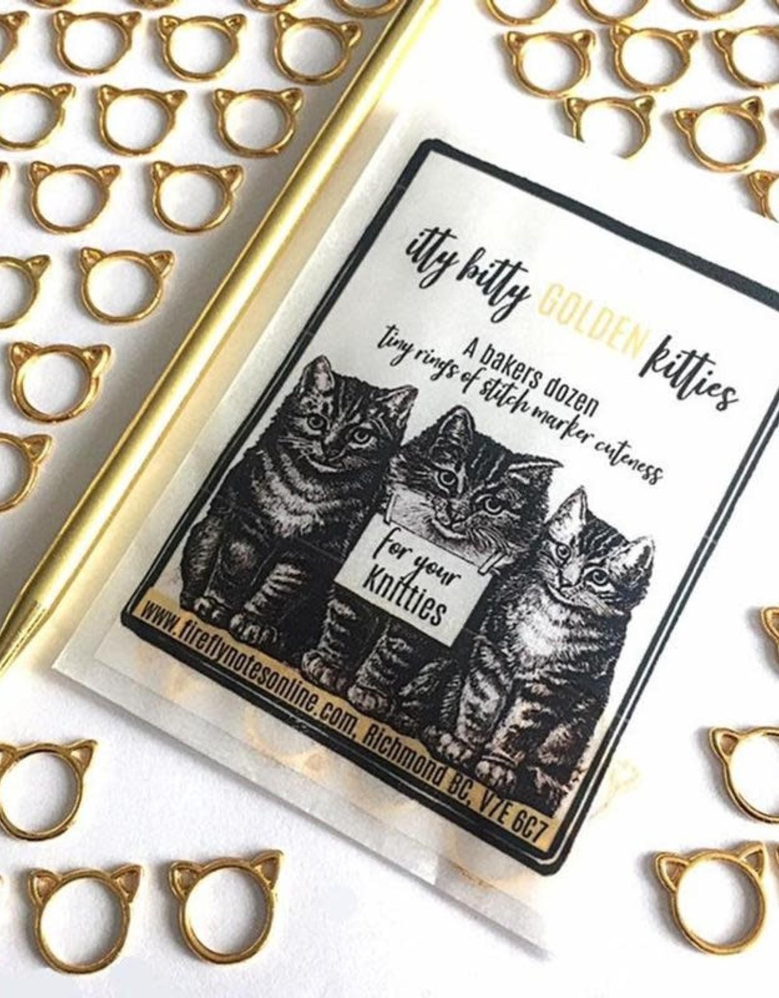 Firefly Notes - Itty Bitty Golden Kitties